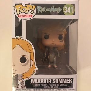 Funko Pop-Rick and Morty-Warrior Summer-#341